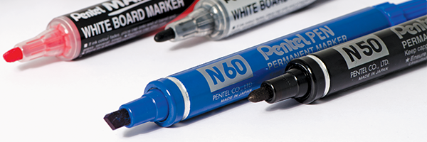 image of permanent and whiteboard markers